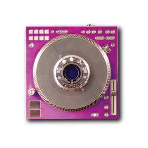 Faceplate in Purple Color