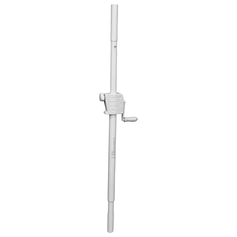 White Speaker Crank Extension Pole