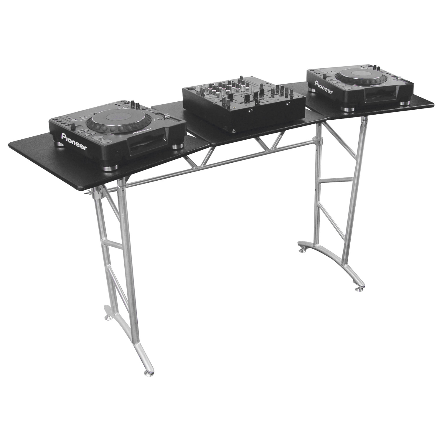 DJ Truss Table with Swivel Side Platform