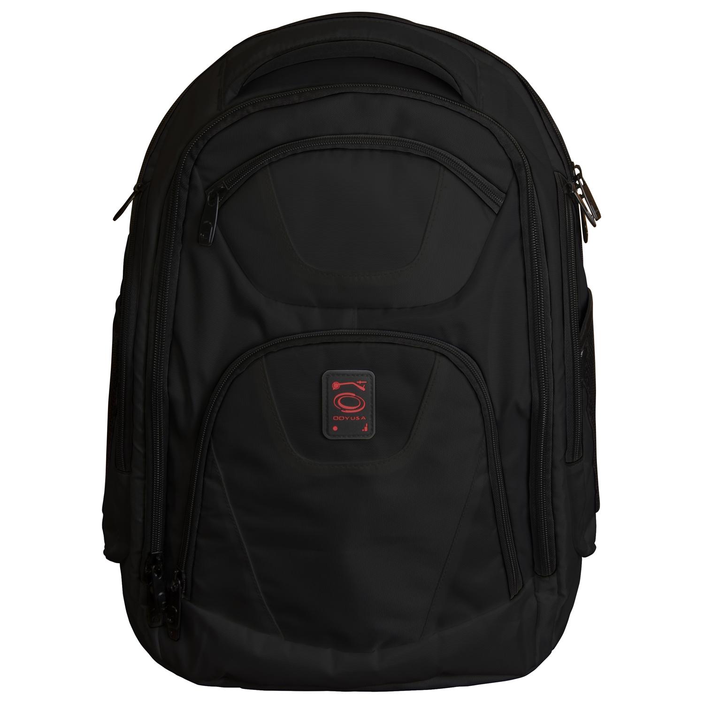 Black DJ Backpack