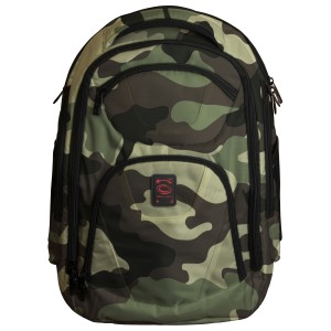 Green Camouflage DJ Backpack