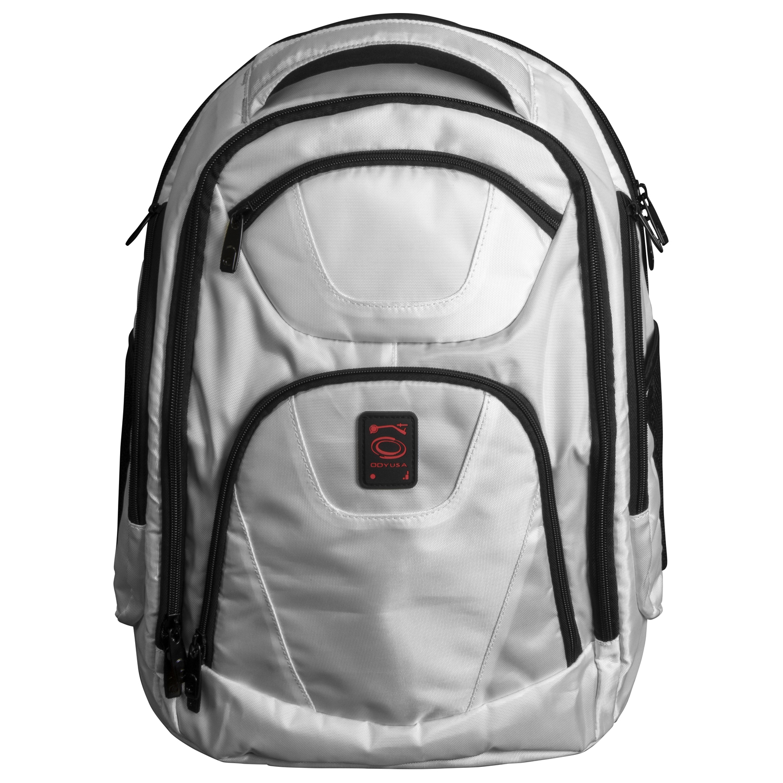 White DJ Backpack