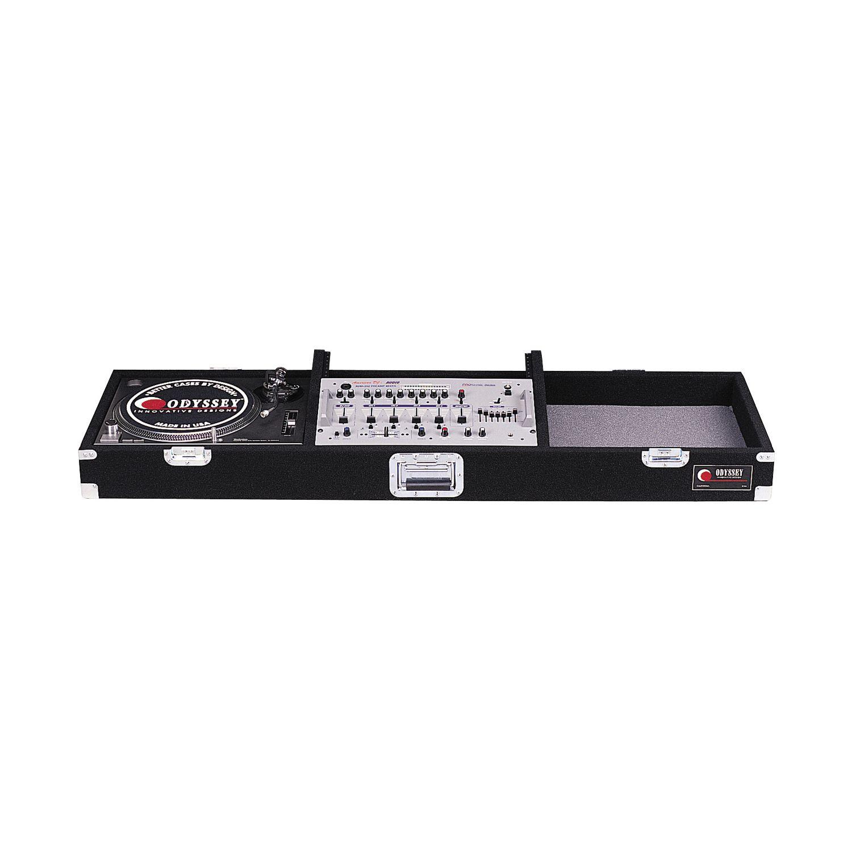 "Universal Standard Position Pro Standard Carpet Coffin Case 19"" DJ Mixer"