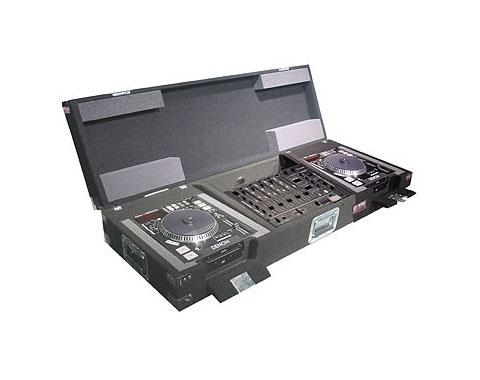 Carpet Pro Coffin Case forTwo Denon DN-S5000