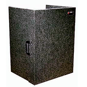 Carpeted Fold-Out Stand 21x28