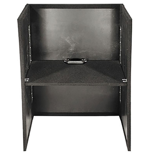 Tall Carpeted Fold-Out Stand 26x36