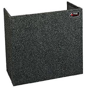 Tall Carpeted Fold-Out Stand 36x30
