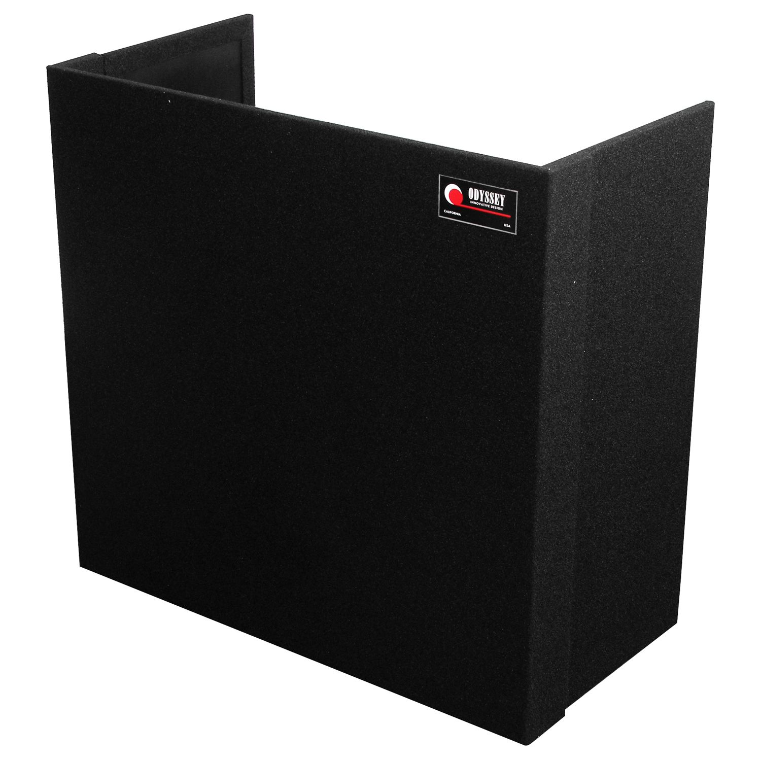 Tall Carpeted Fold-Out Stand 36x34