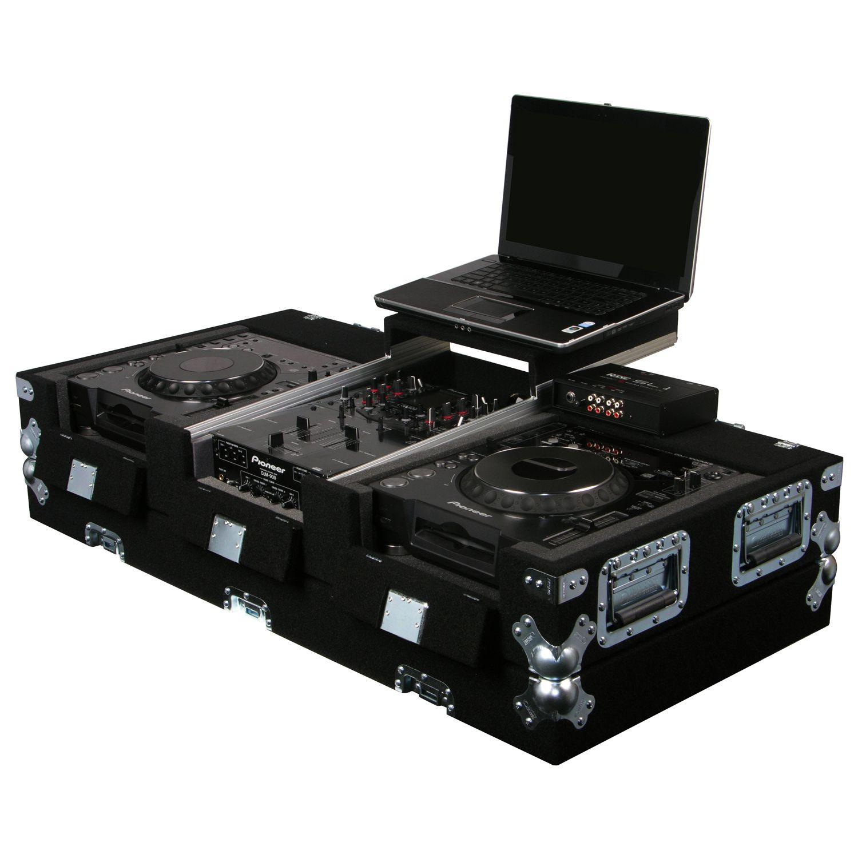 "Universal Media Players Carpet Coffin Case 10"" Mixer"