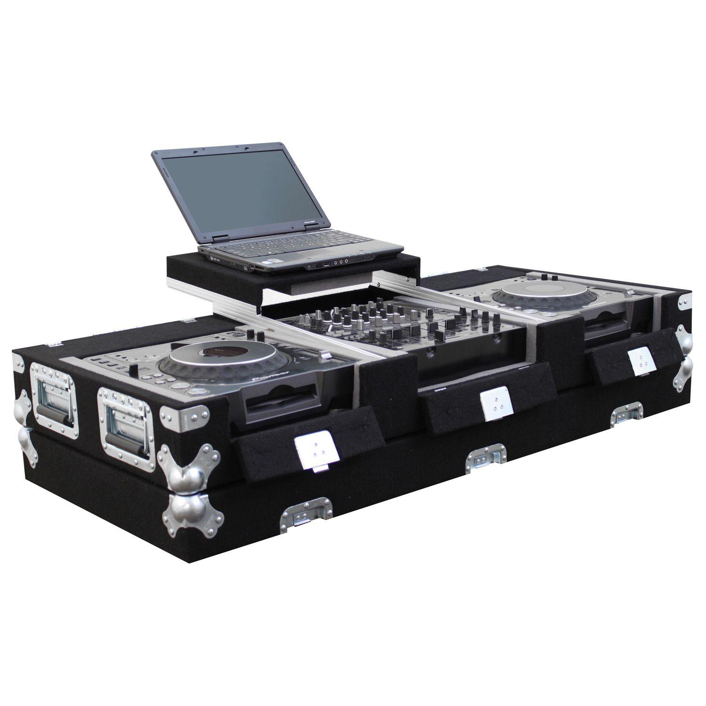 "Universal Media Players Carpet Coffin Case 12"" Mixer"