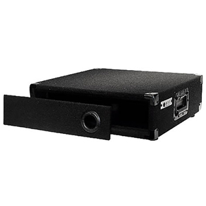 2U Carpet Amp Rack Case