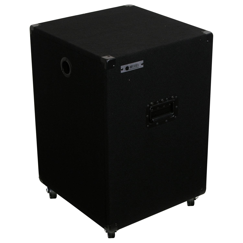 14U Carpet Amp Rack Case with Wheels