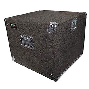 Pro 10U Carpet Amp Rack Case