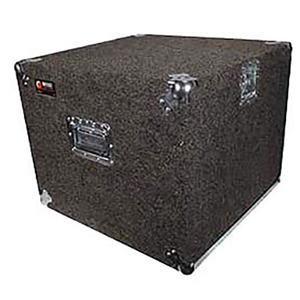 Pro 10U Carpet Amp Rack Case