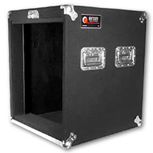 Pro 12U Carpet Amp Rack Case