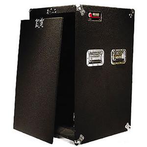 Pro 18U Carpet Amp Rack Case