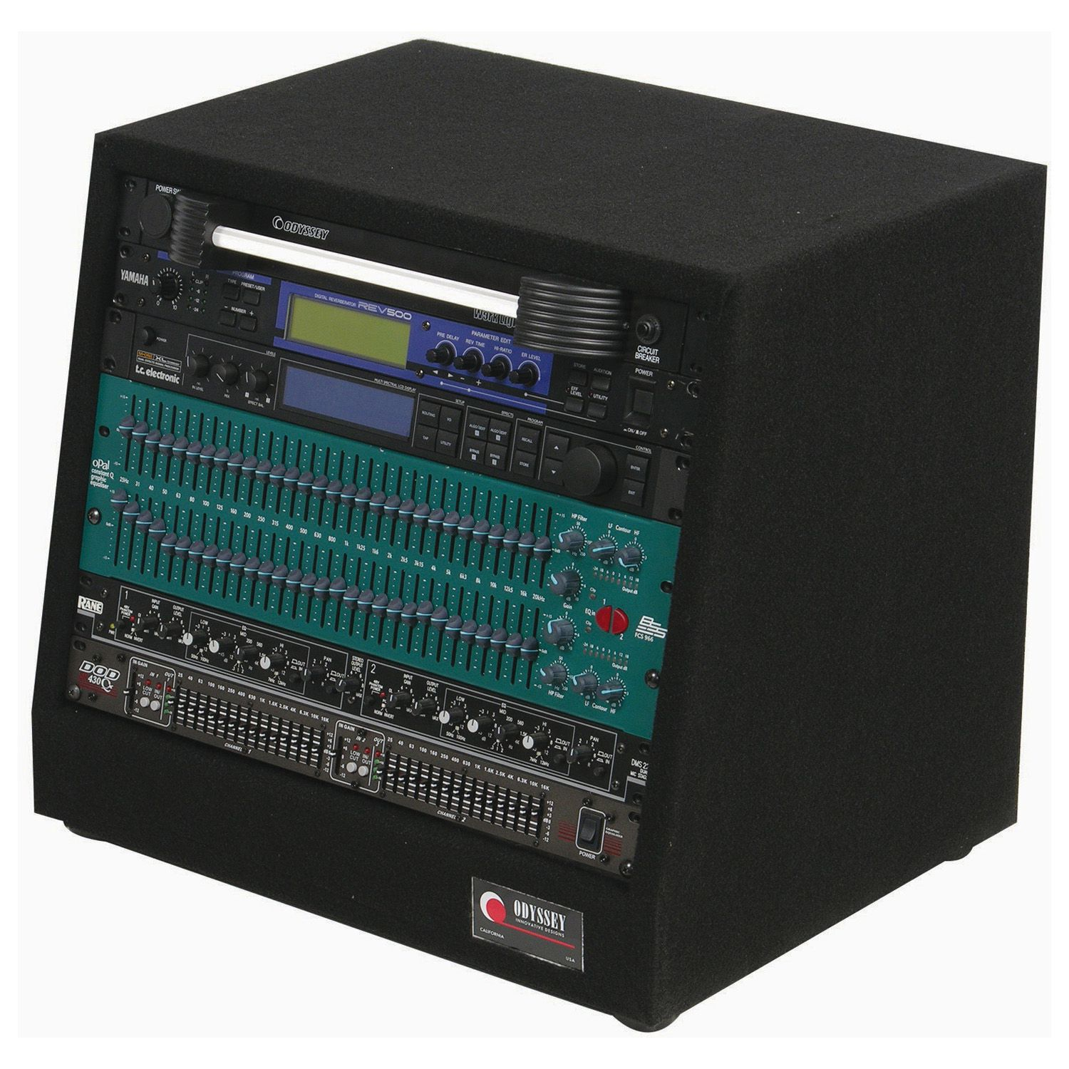 8U Carpet Studio Rack