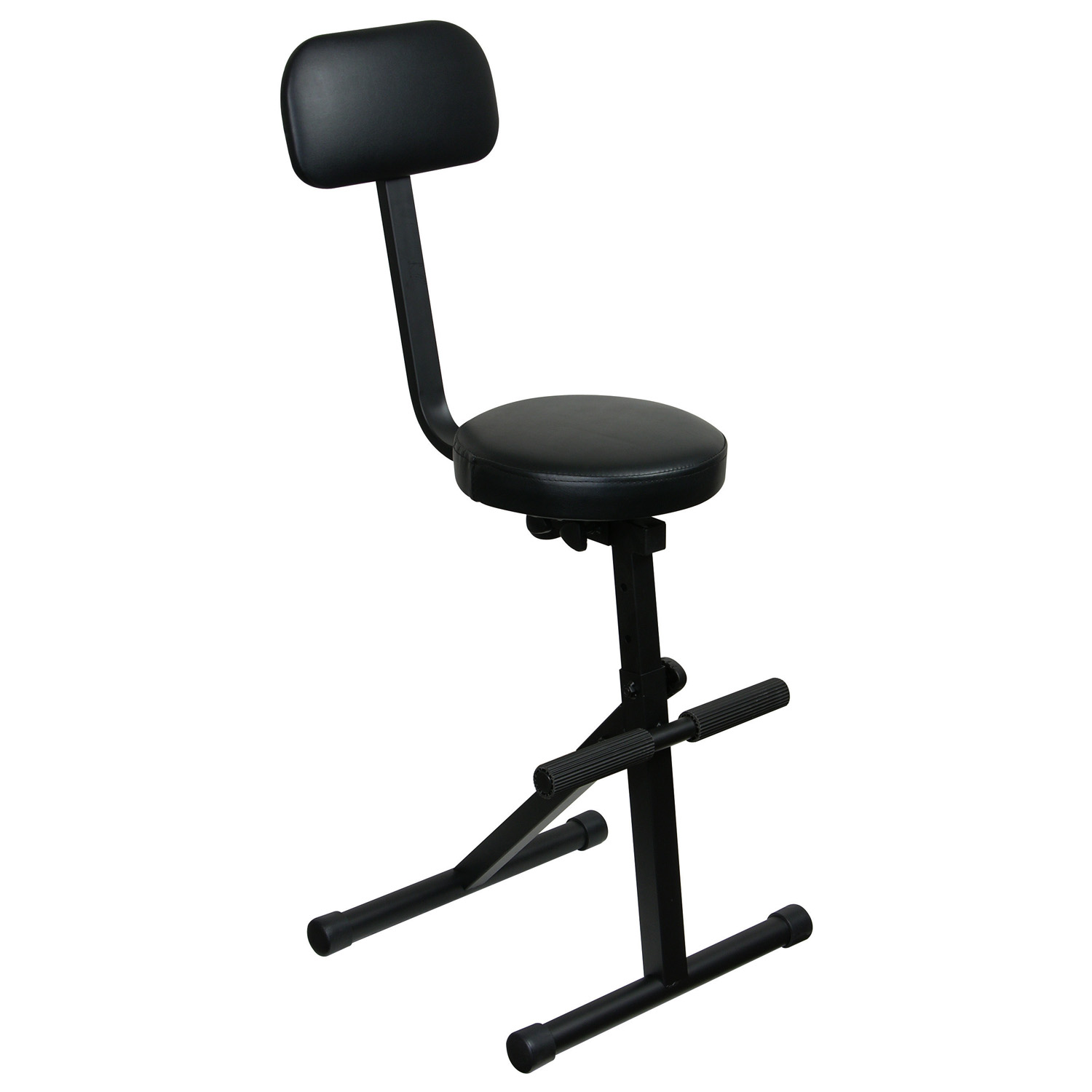 Black adjustable dj chair