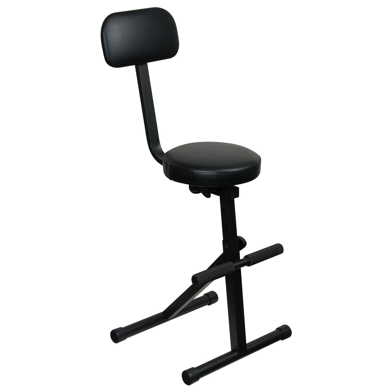 Black adjustable dj chair