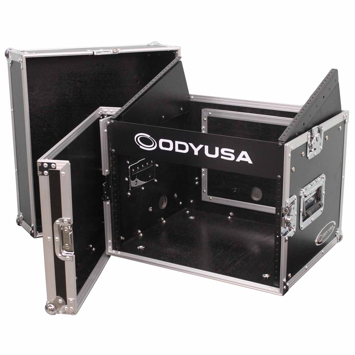 Combo Rack 8u top slanted 6u bottom