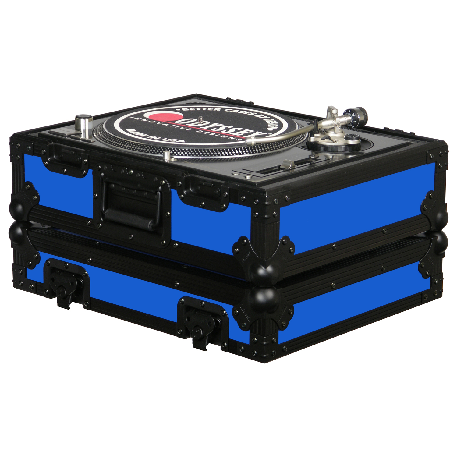 Blue universal turntable case