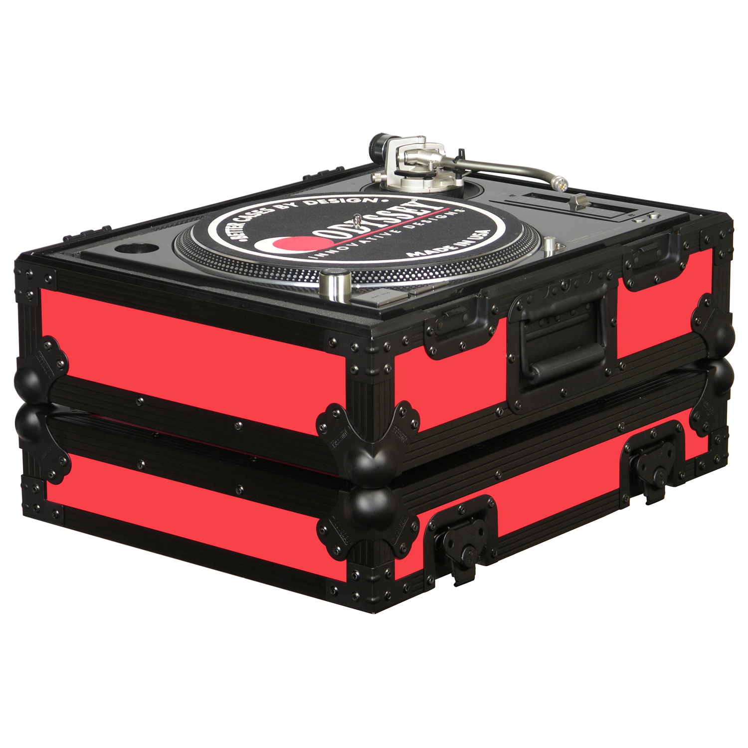 Red Universal Turntable Case