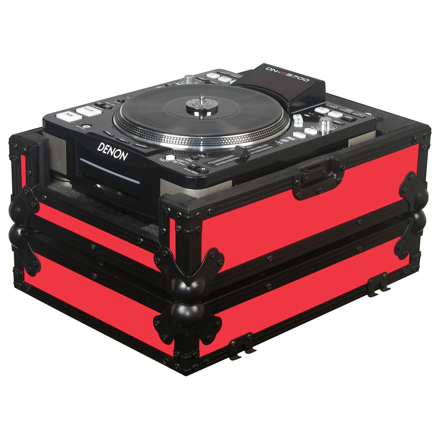 Red universal large format media player case