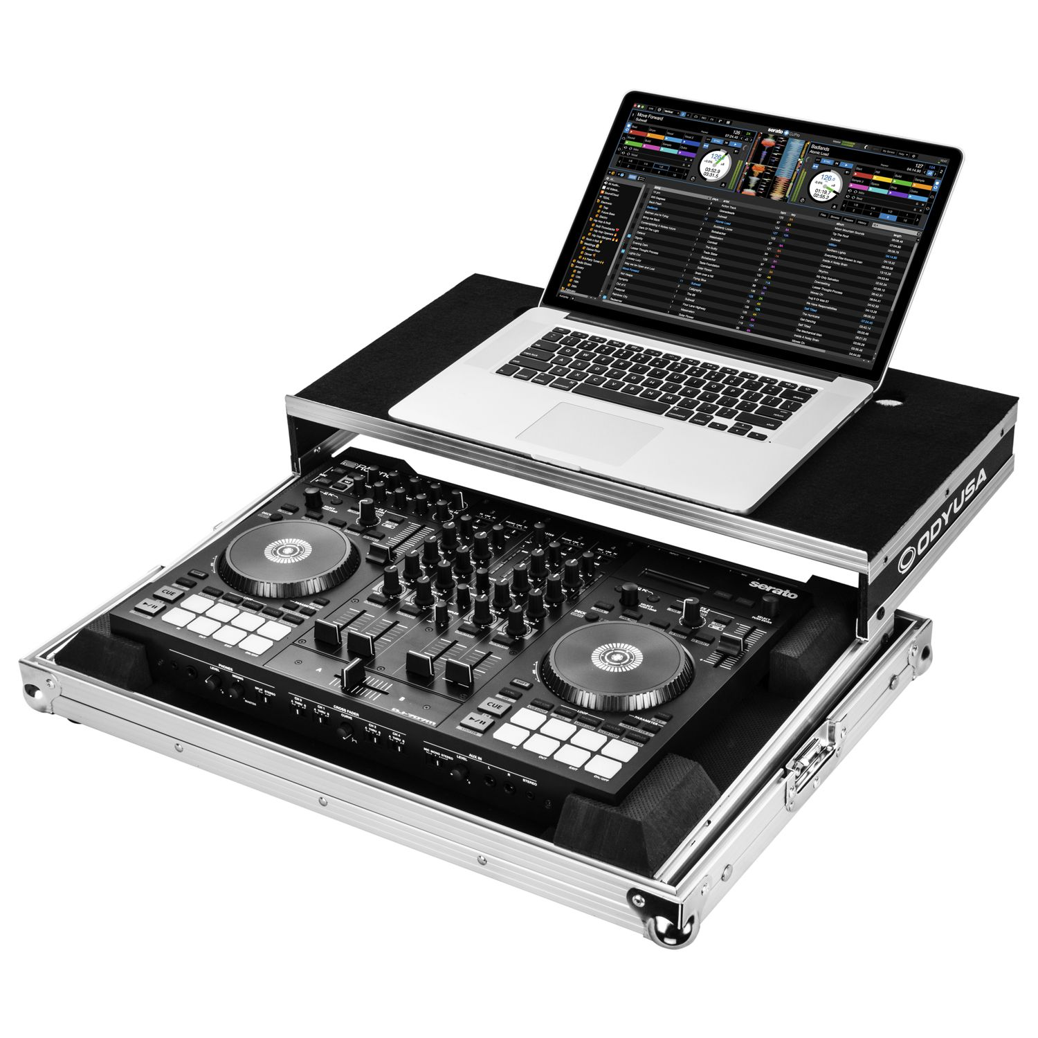 Roland DJ-707M Low Profile Case with Laptop Glide Platform