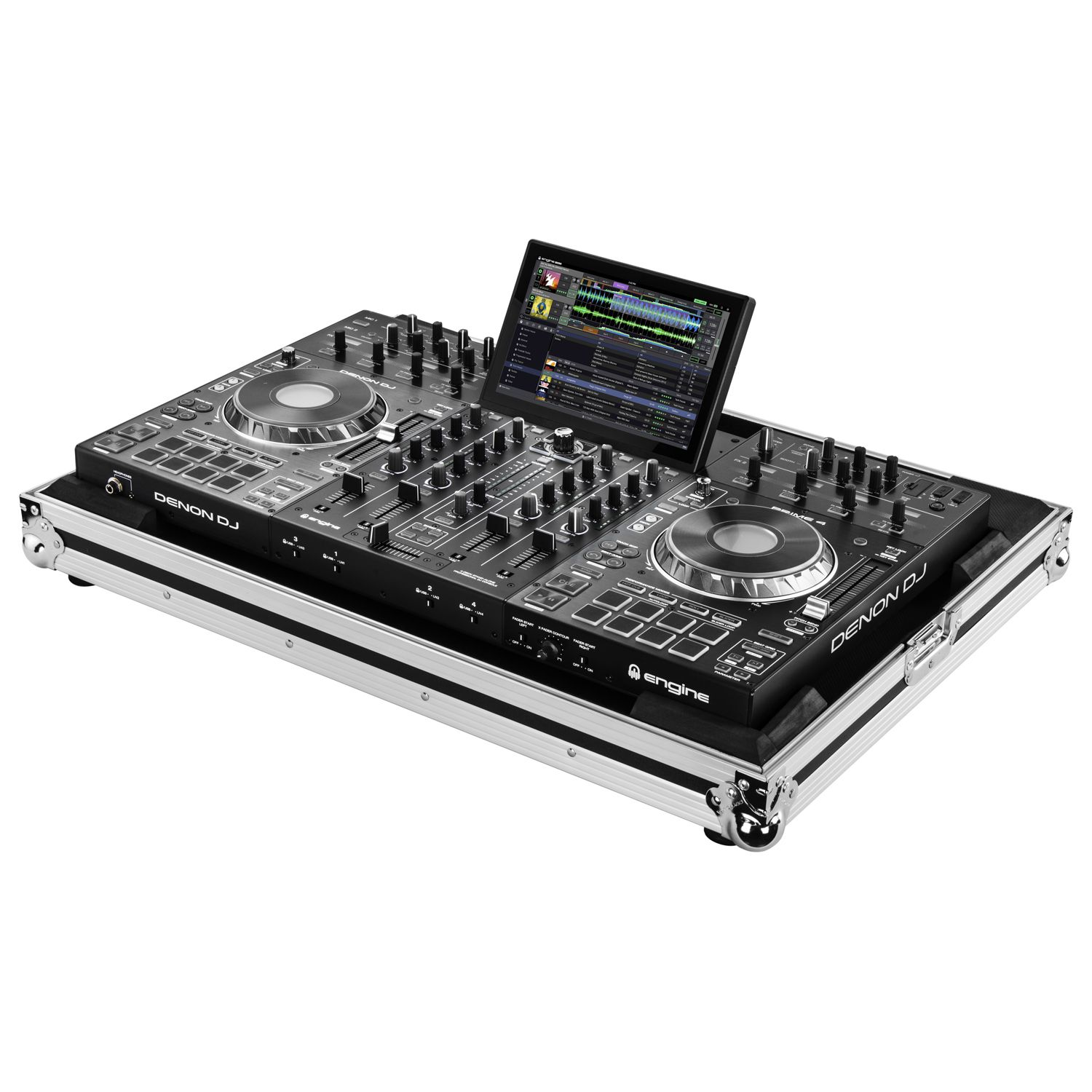 Denon Prime 4 Low Profile Flight Case