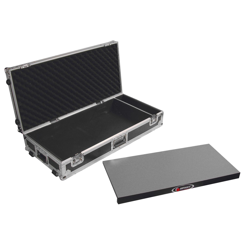 """Odyssey FZGPEDAL32W 32"""" ATA Flight Pedal Case w// Slanted Pedal Board"""
